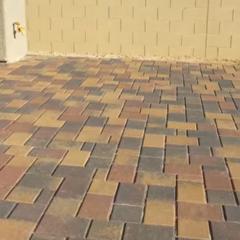 Beautiful Patio Job